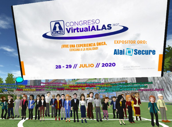 AlaiSecure - Noticias: Congreso Virtual ALAS 360