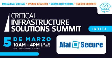 """Alai Secure presenta sus últimas soluciones en comunicaciones M2M/IoT en el evento """"Critical infraestructure Solutions Summit"""""""
